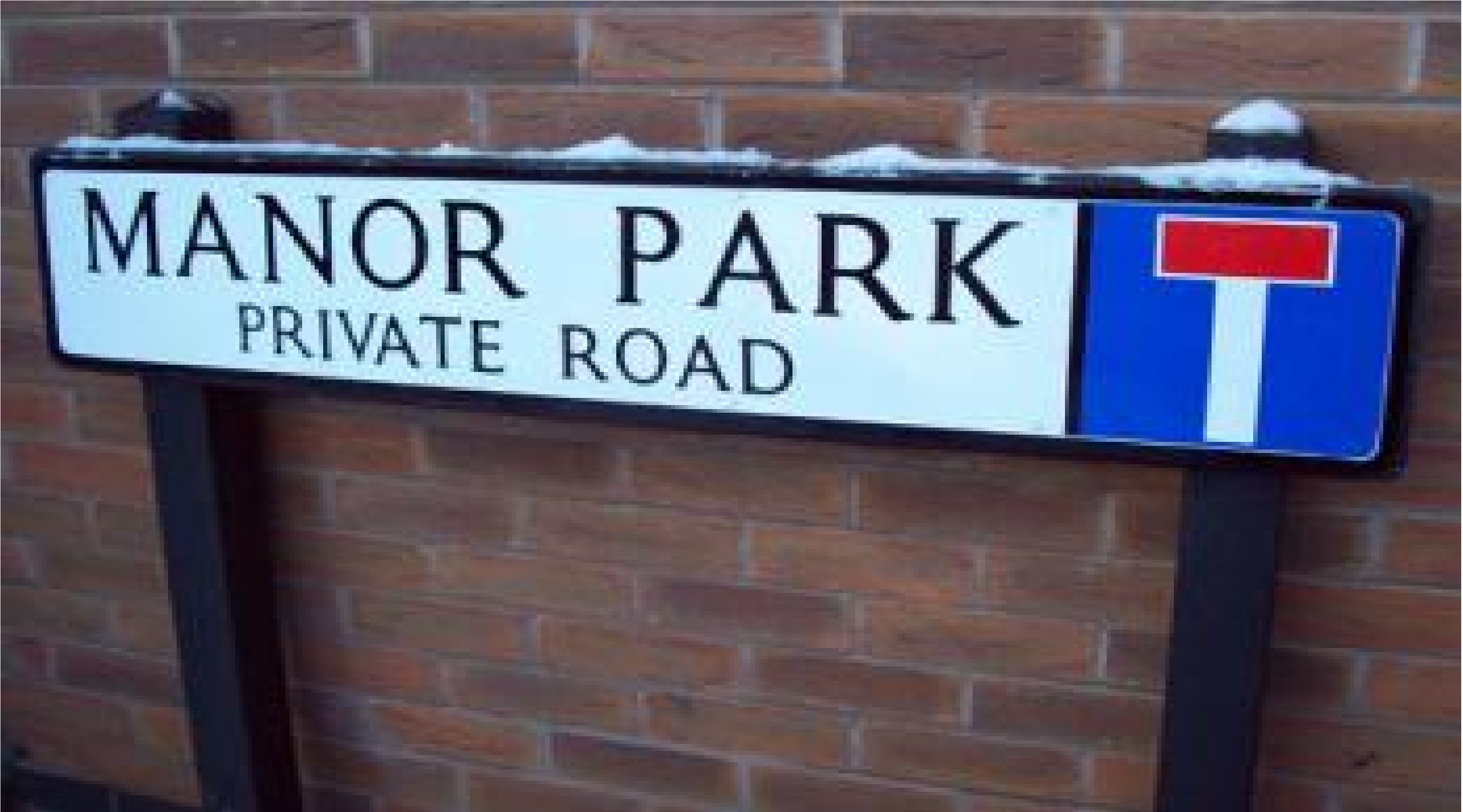 Aluminium Street Sign - Post Mounted (Recycled Plastic Posts